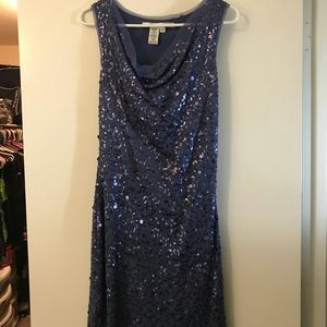 Max studio sequenced dress